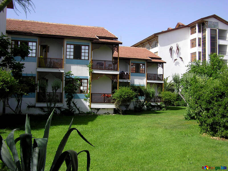 Hotel with small houses several rooms №21669