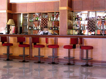 Bar stools at the bar №22005