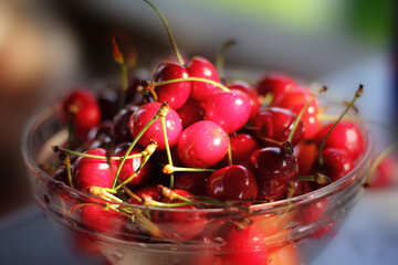 Juicy cherries №22202