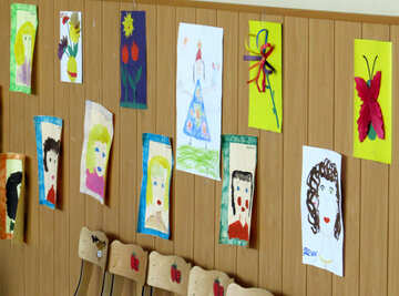 Exhibition of children`s drawings №22094