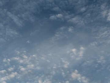 Altocumulus clouds №22648