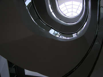 Large spiral staircase №22027