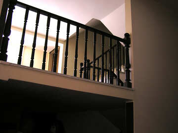 Wooden railings №22012