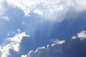 Sfondo sul desktop bel cielo №22711