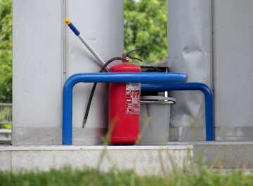 Large fire extinguisher №22154