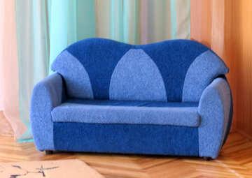 Sofa on the floor №22089