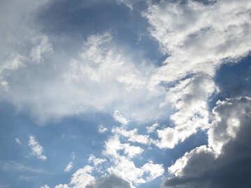 Sfondo cielo sul desktop №22632