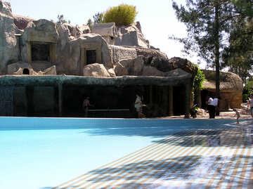 Pool im Landschaftsplanung №22068