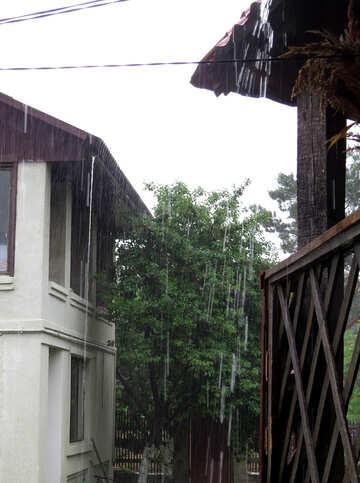 Pioggia battente №22328
