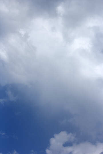 The background sky with cloud №22692