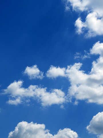 Фон небо на открытку №22464