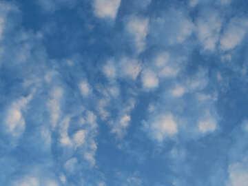 Fluffy sky №22645