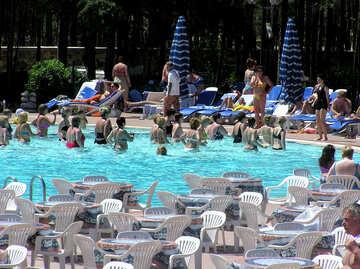 Water aqua aerobics №22051