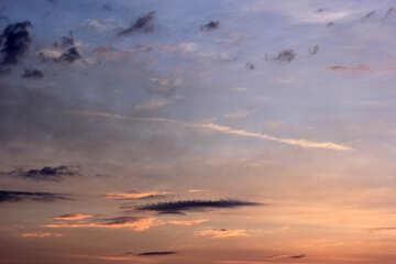 Cielo al tramonto №22721