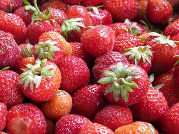 Texture of strawberries №22392