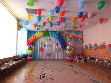 Room decoration balloons №22110
