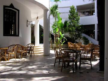 Shaded terrace №22057