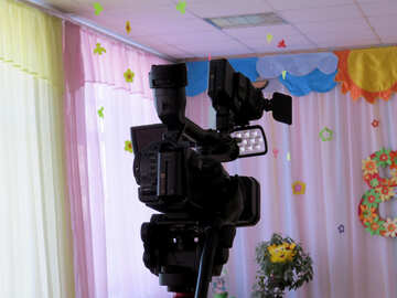 Video camera in kindergarten №22096