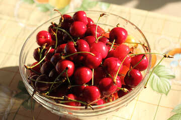 Vitamins in cherries №22190