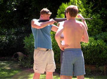 Entertainment.. Rifle shooting. №22070