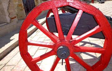 Rad der eine alte Kanone №22844