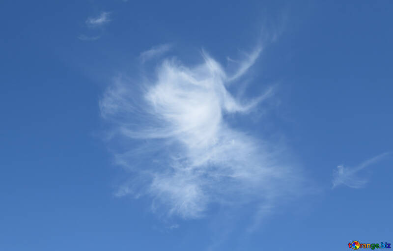 Heavenly angel in the clouds №22746