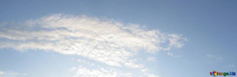 Panorama of sky №22545