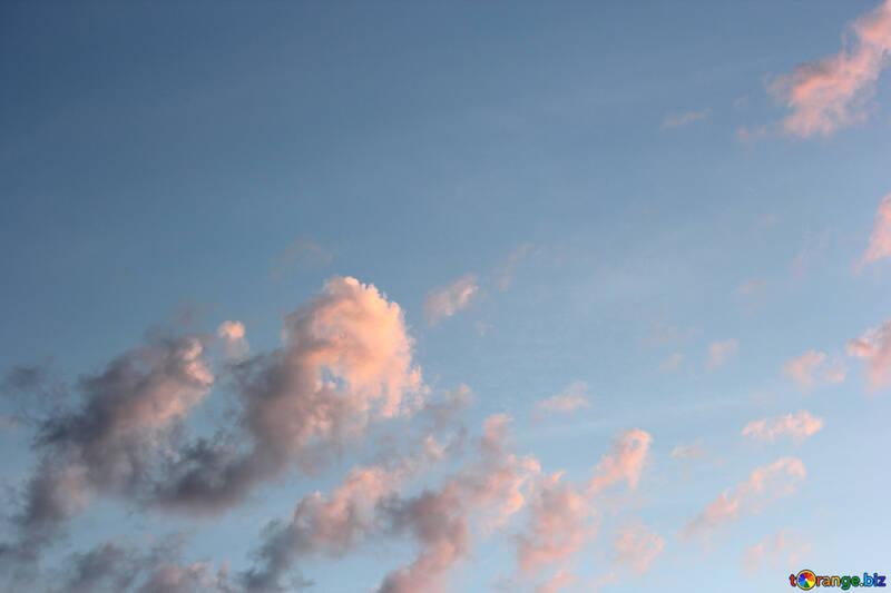 Nuvole al tramonto №22737