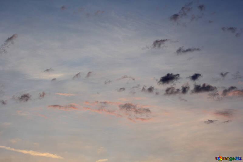 Bunte Wolken №22724