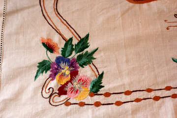 Ukrainian clothes.Embroidery decoration. №23483