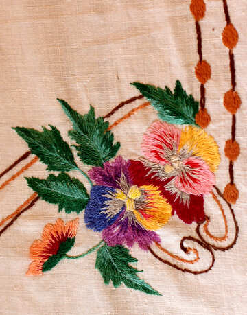 Ukrainian embroidery №23484