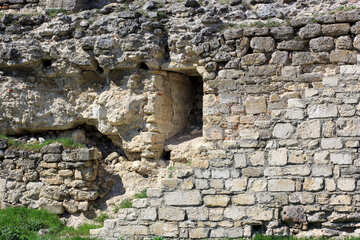 Ancient walls with loopholes №23810