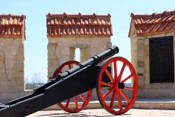 Antique cannon №23694
