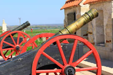 Cannon in fortress №23711