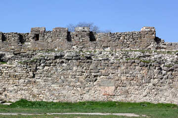 The fortress wall №23836