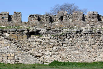 The wall of the old fortress №23834