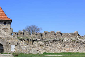 Wall of ancient fortress №23817