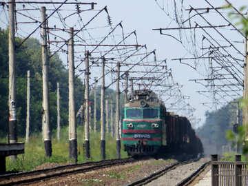 Approaching freight train №23008