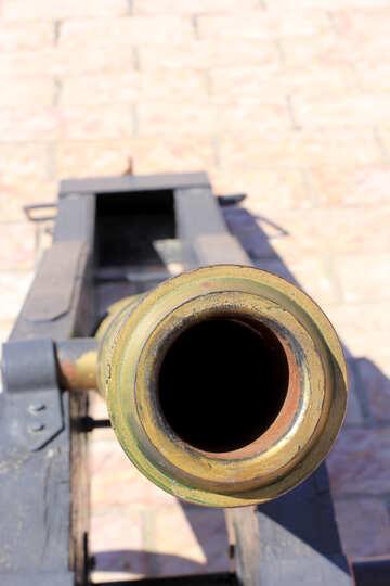 The muzzle of the gun №23709