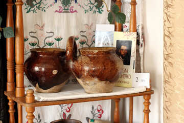 Antike Vasen für Lebensmittel №23500