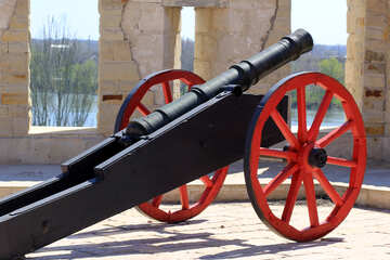 An old cannon №23693