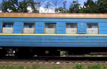 Passenger Rails train  №23022
