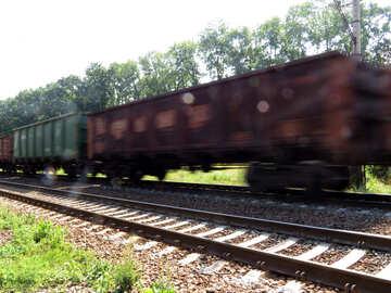 Lieferung von waren mit der Bahn №23001