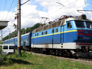 Treno passeggeri ferroviari №23026