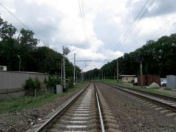 Railroad tracks №23010