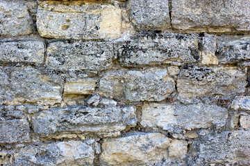 Consistenza del muro di pietra. №23750