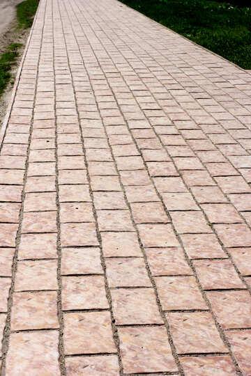 La texture della pietra passerella №23674