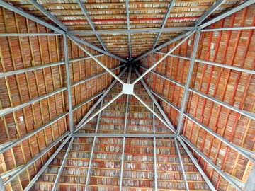 Square sharp roof №23620