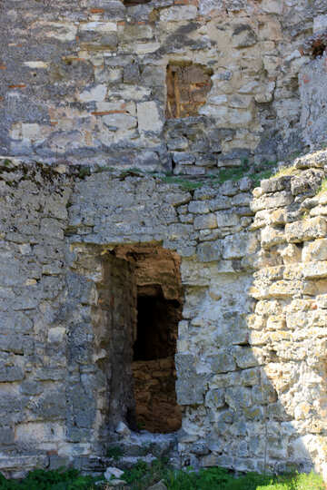 Entrance in ruins №23777