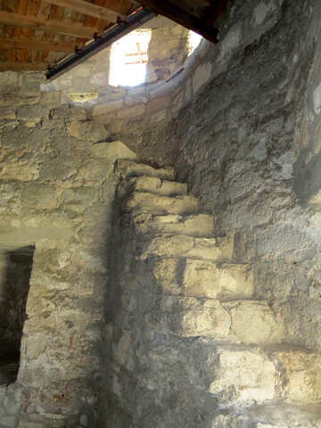 Ancient staircase №23626